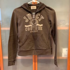 Juicy Couture Zipped Hoodie - Small M